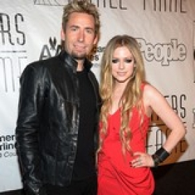 Avril Had A Emotional Weding